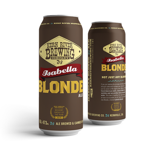 Isabella Blonde Ale Pre-Sale