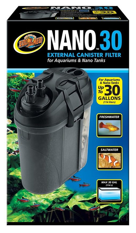 Zoo Med Nano 30  External Canister Filter