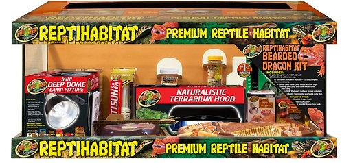 Zoo Med ReptiHabitat Juvenil Bearded Dragon Kit 20Gal
