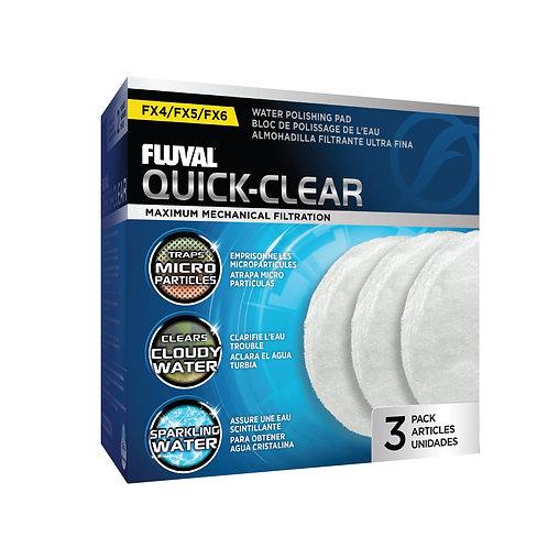 Fluval FX4/FX5/FX6 Quick-Clear 3Pk