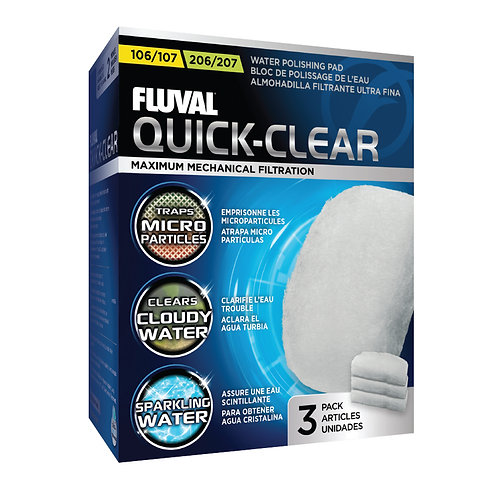 Fluval 106/206, 107/207 Quick-Clear 3Pk