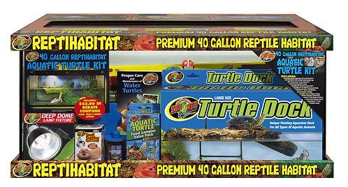 Zoo Med ReptiHabitat Terrarium Aquatic Turtle Kit 40Gal