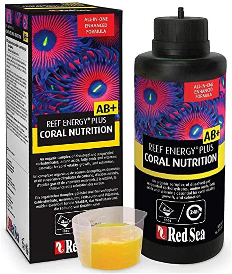 Red Sea Reef Energy Plus Coral Nutrition AB+ 250 ML