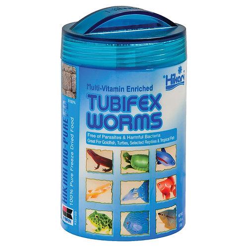 Hikari Freeze Dried Bio Pure Tubifex Worms .78oz