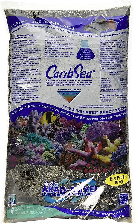 CaribSea Ocean Direct Live Sand 20 lb Pacific Black Reef