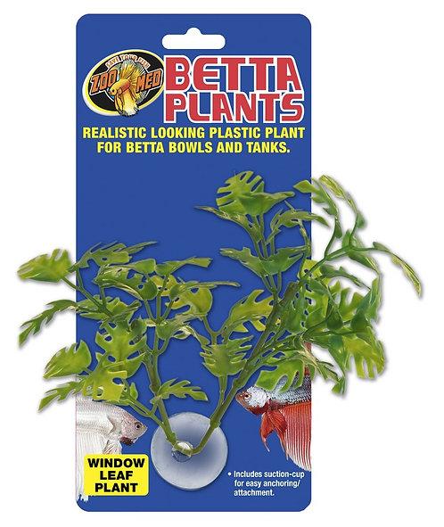 Zoo Med Betta Plant - Window Leaf