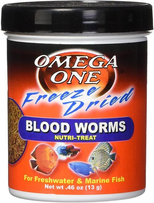 Omega One Freeze Dried Nutri-Treats Blood Worms