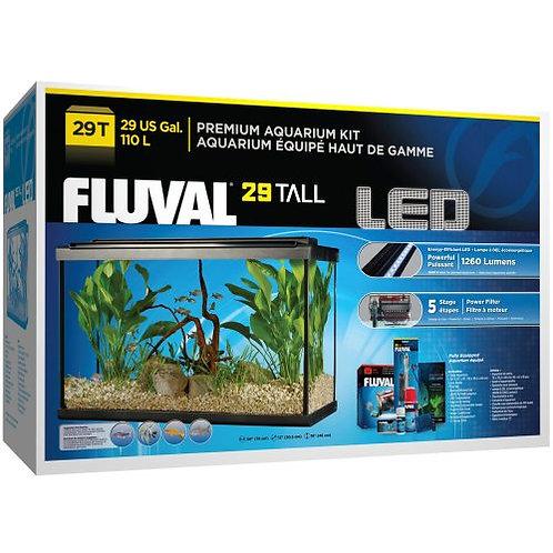 Fluval High Led Aquarium Kit 29 Gal