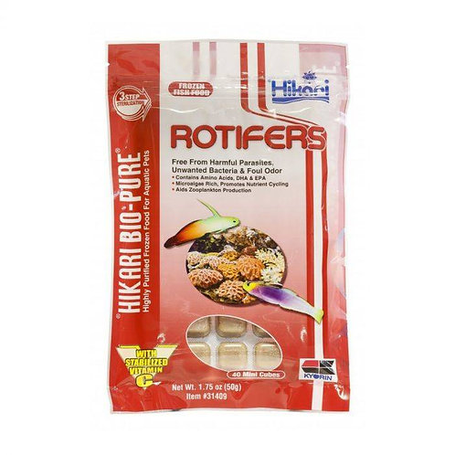 Hikari Rotifers Cubes Frozen 1.75oz