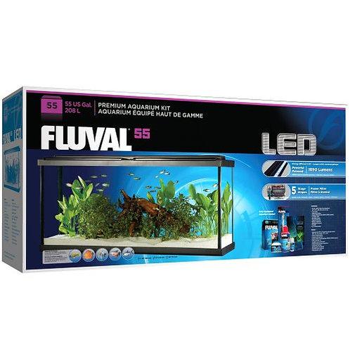 Fluval Led Aquarium Kit 55g Gal