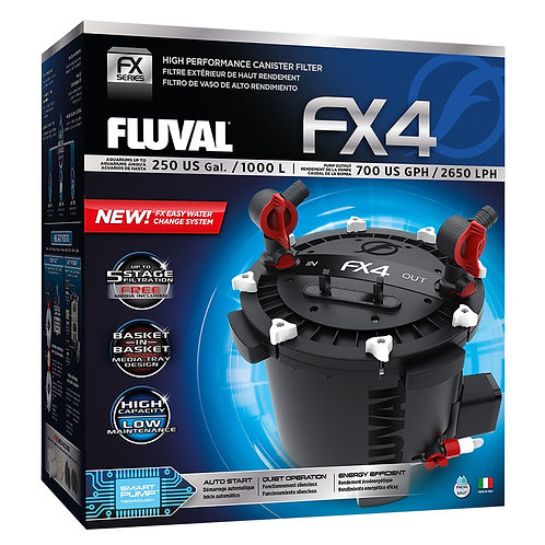 Fluval FX4 High Performance Canister Filter, up to 250 US Gal (1000 L)