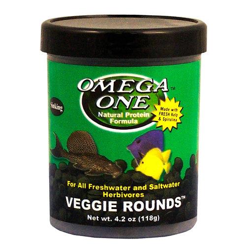 Omega One Veggie Sinking Rounds