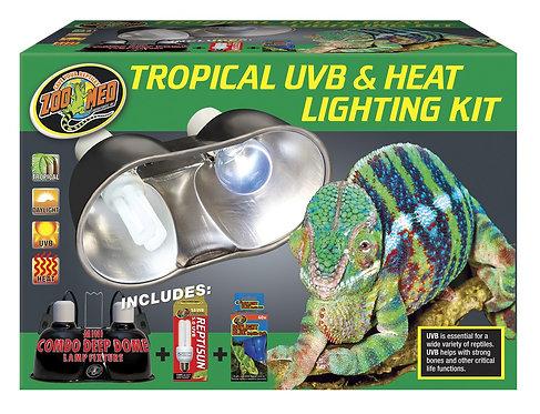 Zoo Med Tropical UVB & Heat Lighting Kit