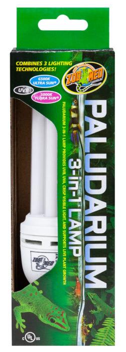 Zoo Med Paludarium 3-in-1 Lamp 26W