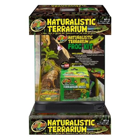 Zoo Med Frog Terrarium  Kit 12x12x18