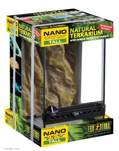 Exo Terra Natural Terrarium Nano Tall 20x20x30cm
