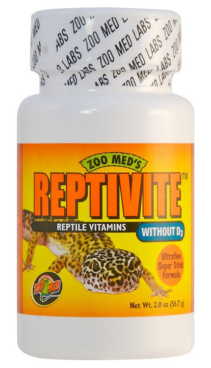Zoo Med ReptiVite Without D3- 2oz