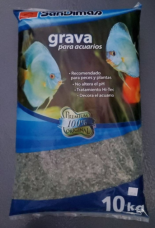 SanDimas Aquarium Gravel Green 10kg