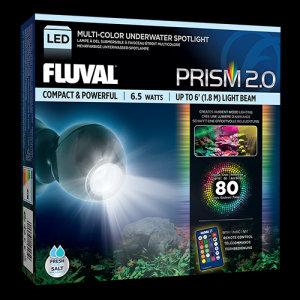 Fluval Prism Multi-Color Underwater  LED Spotlight 2.0 - 6.5w