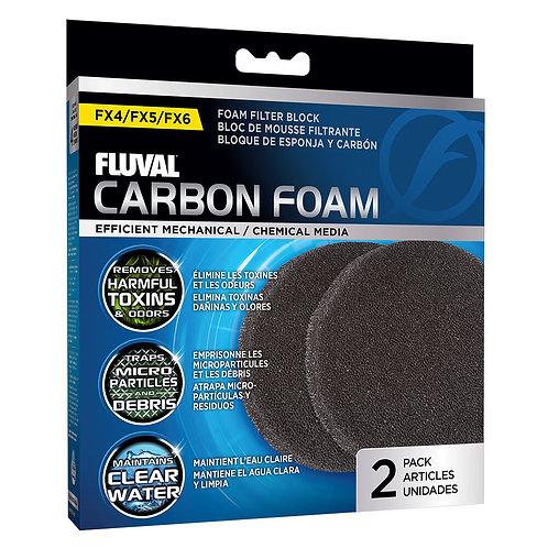 Fluval FX4/FX5/FX6 Carbon Foam 2Pk