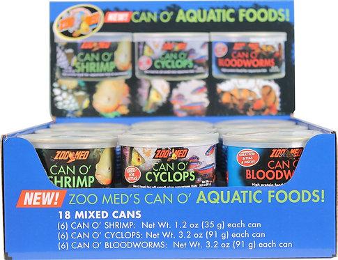 Zoo Med Can O´ Aquatic Foods POP (18ct)