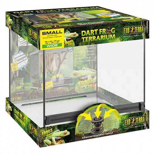 Exo Terra Dart Frog Terrarium Small Wide 45x45x45 Cm