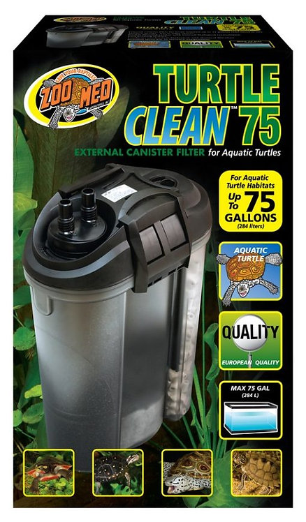 Zoo Med Turtle Clean 75 - External Canister Filter 75 Gal