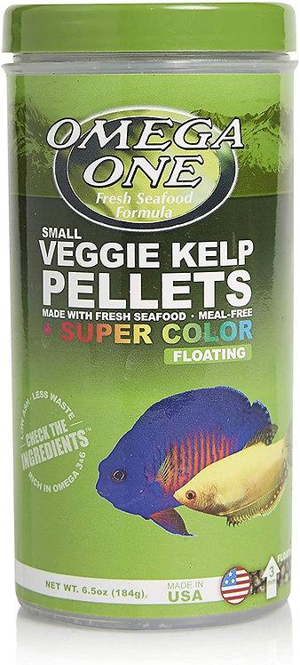 Omega One Veggie Kelp Super Color Floating Pellets