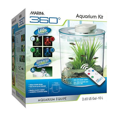 Marina 360 Aquarium Kit 2.65 Gal
