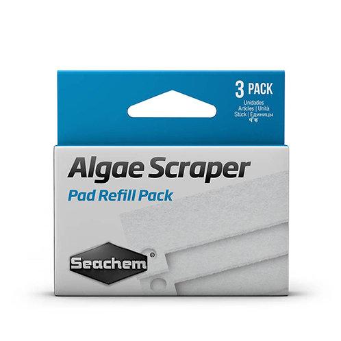 Seachem Algae Scraper Replacement Scrubber 3Pk