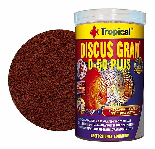 Tropical Discus Gran D-50 Plus 440g