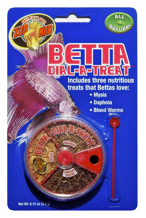 Zoo Med Betta Dial-a-Treat 0.12oz