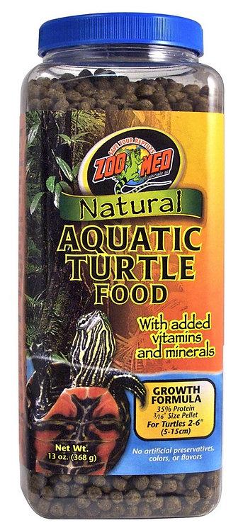 Zoo Med  Natural Aquatic Turtle Food Growth Formula 13oz