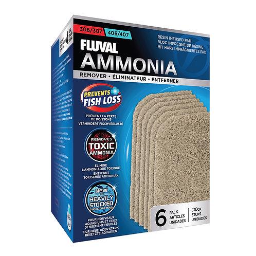 Fluval 306/406, 307/407 Ammonia Remover 6Pk