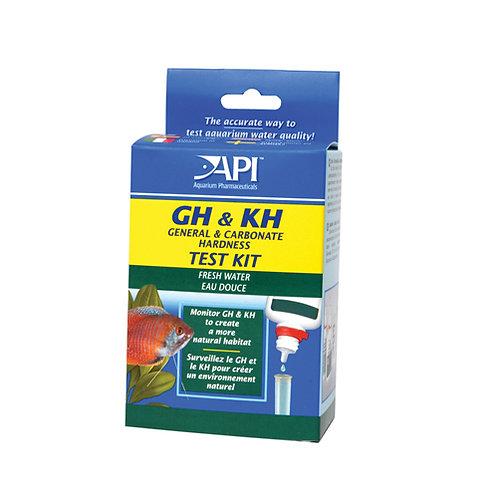Api General/Carbonate (Gh+Kh) Hardness Test Kit Each
