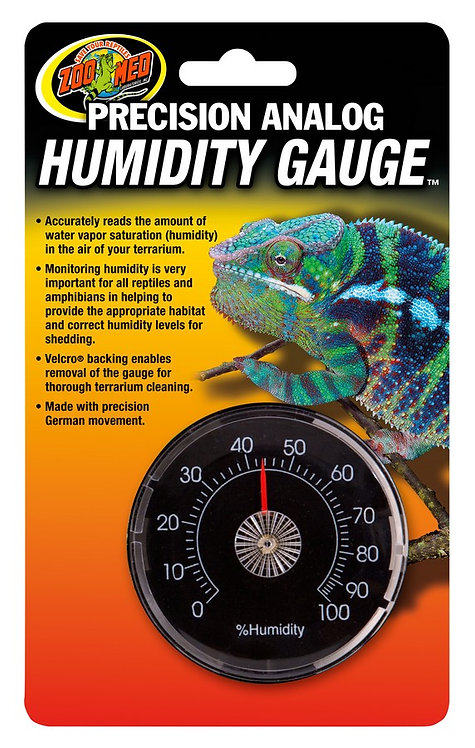 Zoo Med Analog Humidity Gauge