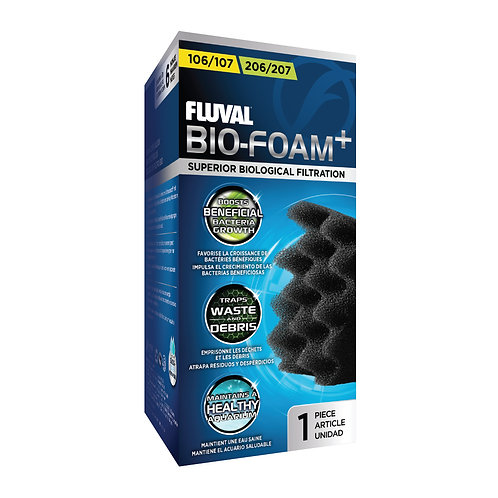 Fluval 106/206, 107/207 Bio-Foam+ 1Pk