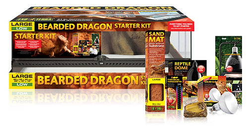 Exo Terra Bearded Dragon Started Kit Large Low