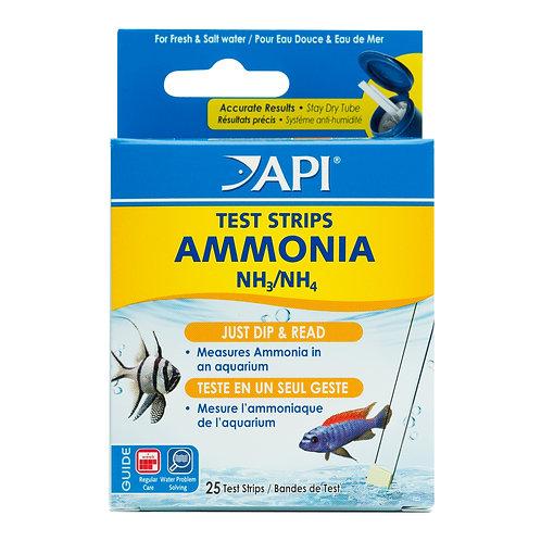 Api Ammonia Test Strips 25pk