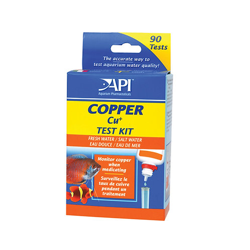 Api Copper Test Kit 90 Tests 0-4ppm