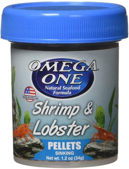 Omega One Shrimp & Lobster Pellets 1.2oz