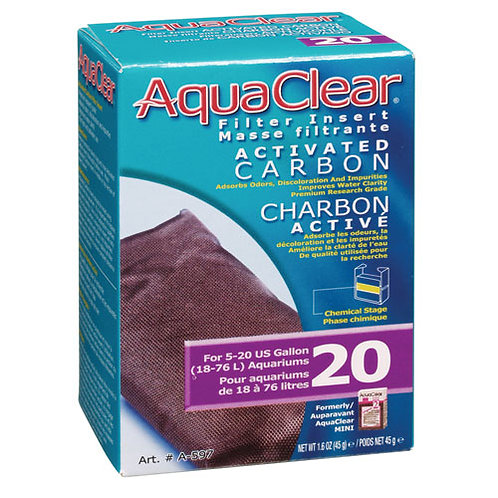 Aquaclear Filter Insert  Carbon Activated 20