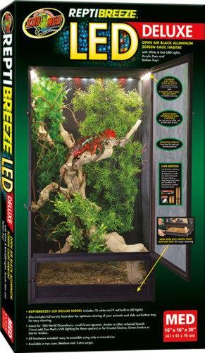 Zoo Med Reptibreeze Led Deluxe 16x16x30Medium
