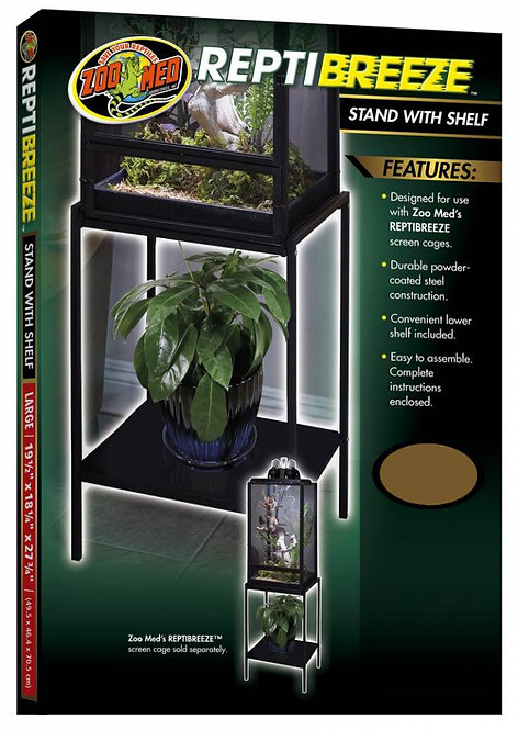 Zoo Med Reptibreeze Stand With Shelf Small