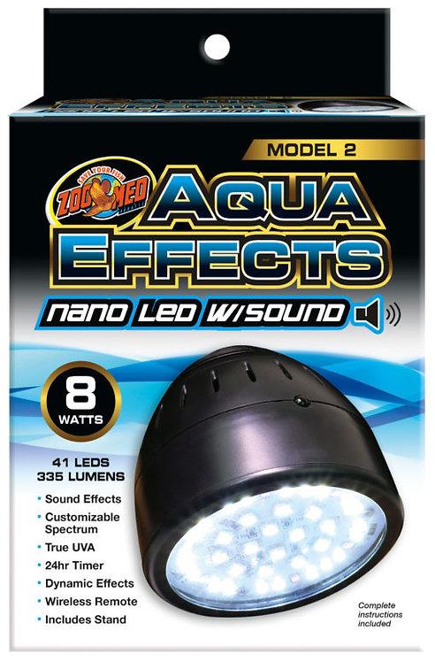 Zoo Med AquaEffects Nano LED Model Two 8W
