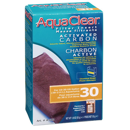 Aquaclear Filter Carbon Activated 30