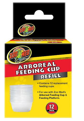 Zoo Med Arboreal Feeding Cup 12 Pack