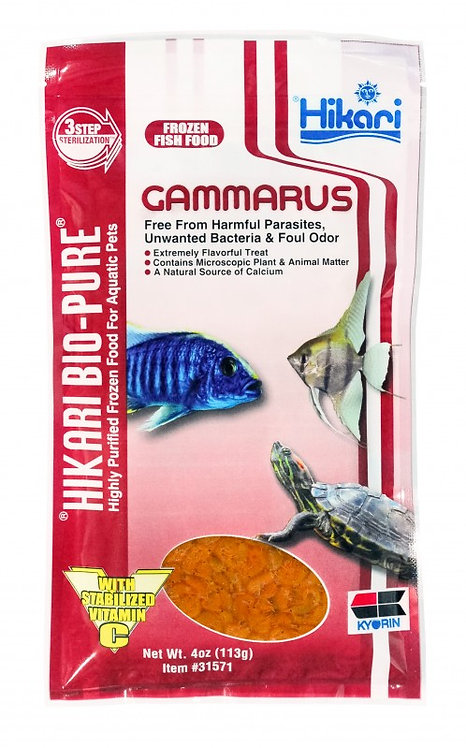 Hikari Gammarus Flat Pack Frozen 4oz