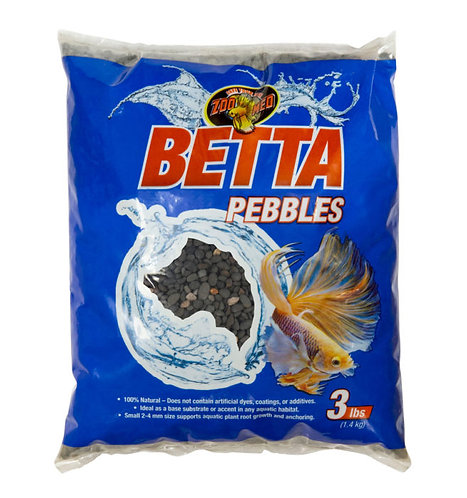 Zoo Med Betta Pebbles Substrate 3lb