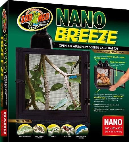 Zoo Med Nano Breeze Alumuninum Screen Cage  10x10x12